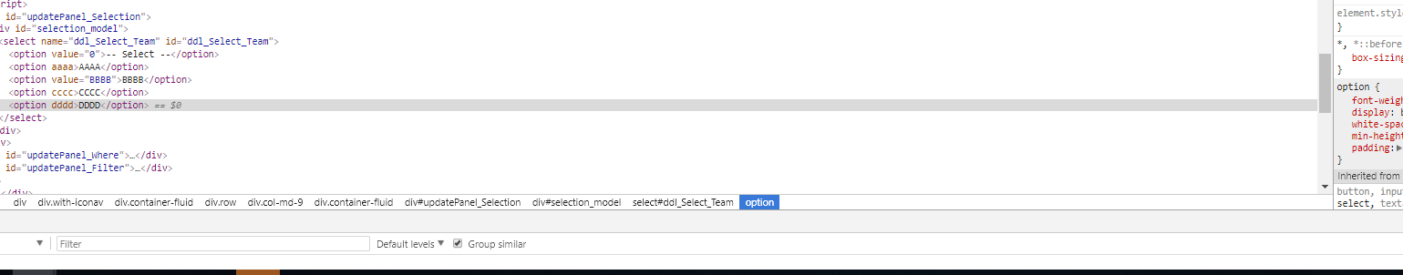 Add select2 to new DropDownList [C#][asp net] - How Do I    - Select2